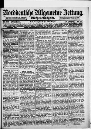 Norddeutsche allgemeine Zeitung vom 21.06.1891