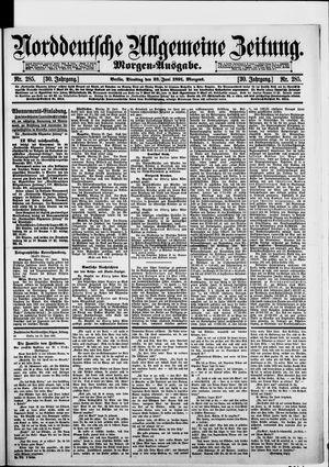 Norddeutsche allgemeine Zeitung vom 23.06.1891