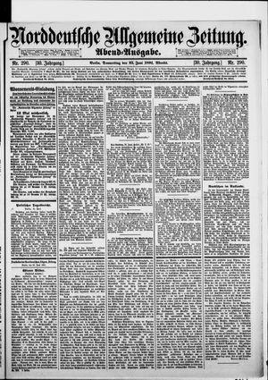 Norddeutsche allgemeine Zeitung vom 25.06.1891