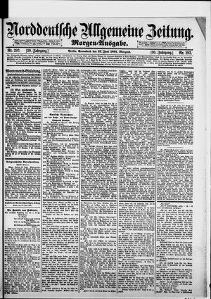 Norddeutsche allgemeine Zeitung on Jun 27, 1891