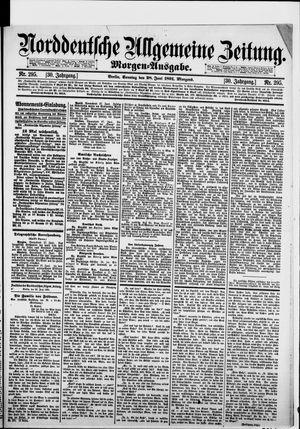 Norddeutsche allgemeine Zeitung vom 28.06.1891