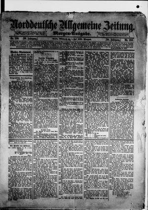 Norddeutsche allgemeine Zeitung vom 01.07.1891