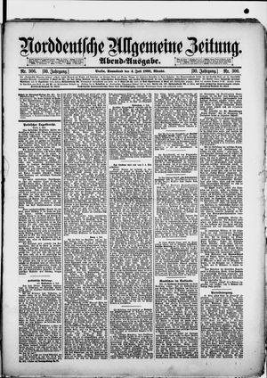Norddeutsche allgemeine Zeitung vom 04.07.1891