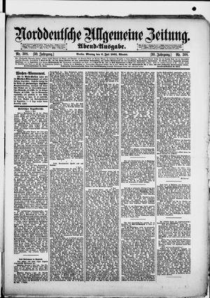 Norddeutsche allgemeine Zeitung vom 06.07.1891