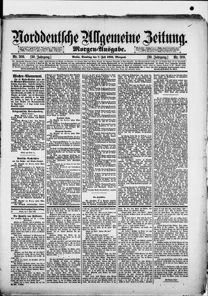 Norddeutsche allgemeine Zeitung vom 07.07.1891