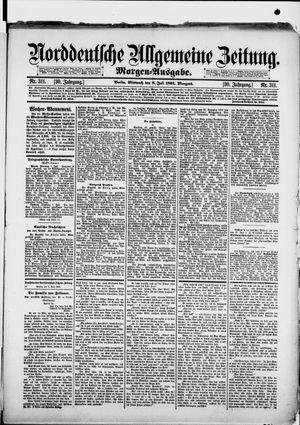 Norddeutsche allgemeine Zeitung vom 08.07.1891