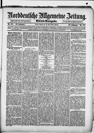 Norddeutsche allgemeine Zeitung vom 10.07.1891