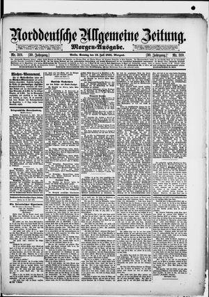 Norddeutsche allgemeine Zeitung vom 12.07.1891