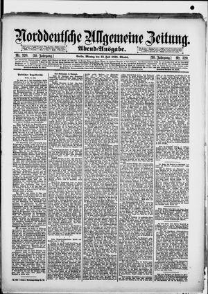 Norddeutsche allgemeine Zeitung vom 13.07.1891
