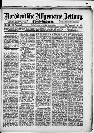 Norddeutsche allgemeine Zeitung vom 14.07.1891