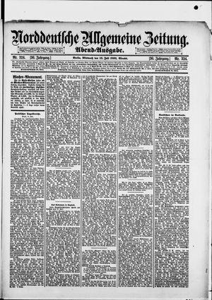 Norddeutsche allgemeine Zeitung vom 15.07.1891