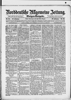 Norddeutsche allgemeine Zeitung vom 16.07.1891