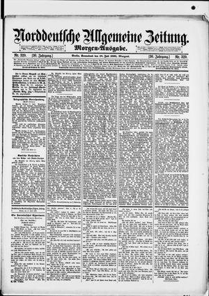 Norddeutsche allgemeine Zeitung vom 18.07.1891
