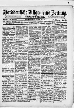 Norddeutsche allgemeine Zeitung vom 19.07.1891