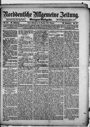 Norddeutsche allgemeine Zeitung (16.12.1891)