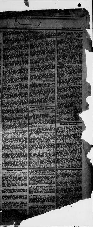 Norddeutsche allgemeine Zeitung vom 01.01.1892