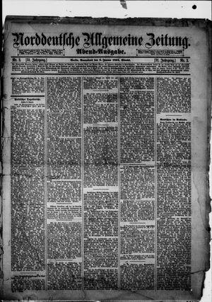 Norddeutsche allgemeine Zeitung vom 02.01.1892