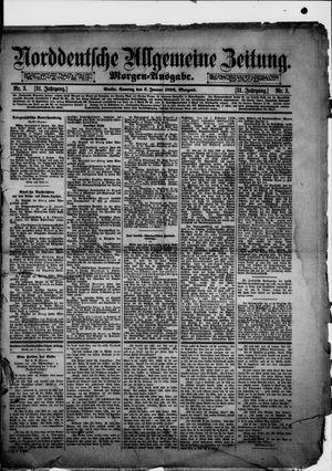 Norddeutsche allgemeine Zeitung vom 03.01.1892