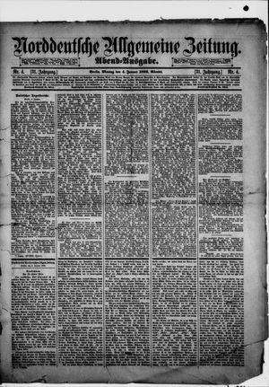 Norddeutsche allgemeine Zeitung vom 04.01.1892
