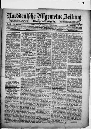 Norddeutsche allgemeine Zeitung vom 10.01.1892