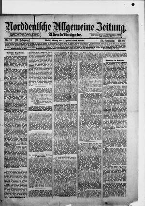 Norddeutsche allgemeine Zeitung on Jan 11, 1892