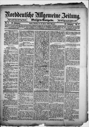 Norddeutsche allgemeine Zeitung vom 12.01.1892