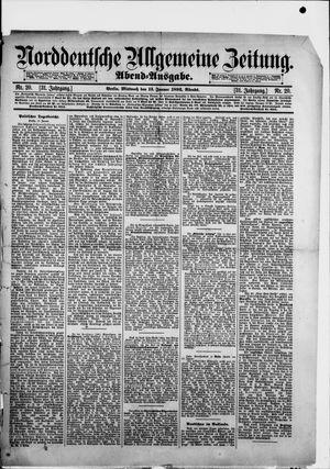 Norddeutsche allgemeine Zeitung vom 13.01.1892