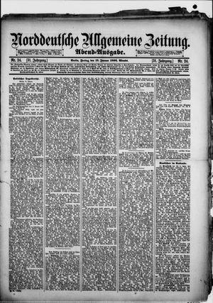 Norddeutsche allgemeine Zeitung vom 15.01.1892
