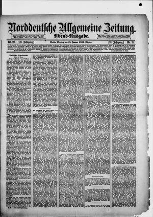 Norddeutsche allgemeine Zeitung vom 18.01.1892