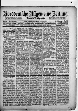 Norddeutsche allgemeine Zeitung vom 20.01.1892