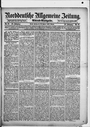 Norddeutsche allgemeine Zeitung vom 22.01.1892