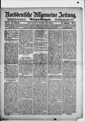 Norddeutsche allgemeine Zeitung on Jan 23, 1892