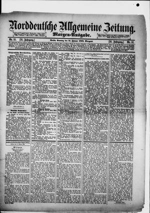 Norddeutsche allgemeine Zeitung vom 31.01.1892