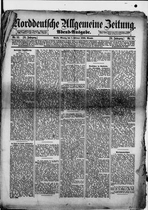 Norddeutsche allgemeine Zeitung vom 01.02.1892