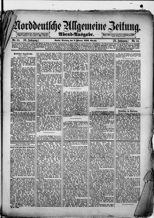 Norddeutsche allgemeine Zeitung vom 02.02.1892