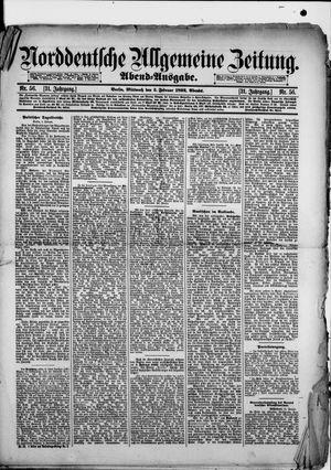 Norddeutsche allgemeine Zeitung vom 03.02.1892
