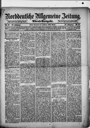 Norddeutsche allgemeine Zeitung vom 06.02.1892