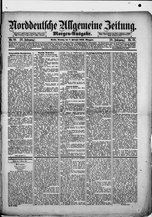 Norddeutsche allgemeine Zeitung vom 07.02.1892