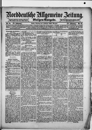 Norddeutsche allgemeine Zeitung vom 09.02.1892