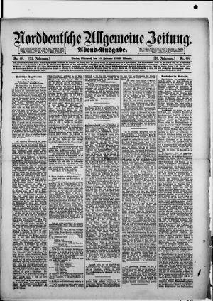 Norddeutsche allgemeine Zeitung vom 10.02.1892