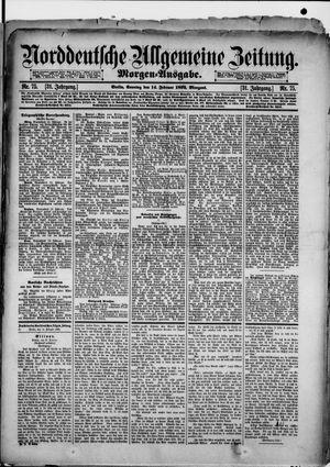 Norddeutsche allgemeine Zeitung vom 14.02.1892
