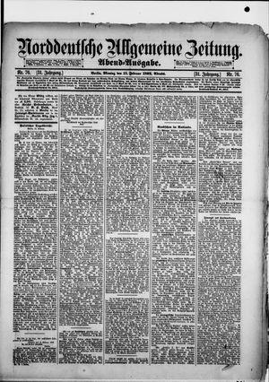 Norddeutsche allgemeine Zeitung vom 15.02.1892