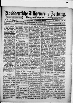 Norddeutsche allgemeine Zeitung vom 18.02.1892