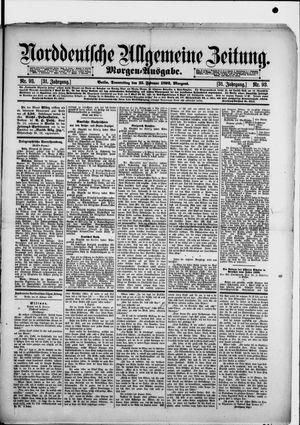 Norddeutsche allgemeine Zeitung vom 25.02.1892