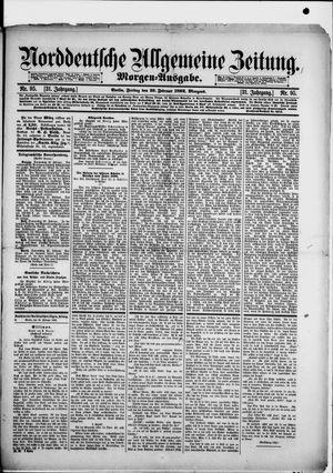 Norddeutsche allgemeine Zeitung vom 26.02.1892