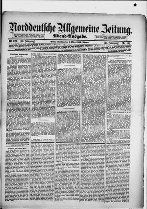 Norddeutsche allgemeine Zeitung vom 01.03.1892
