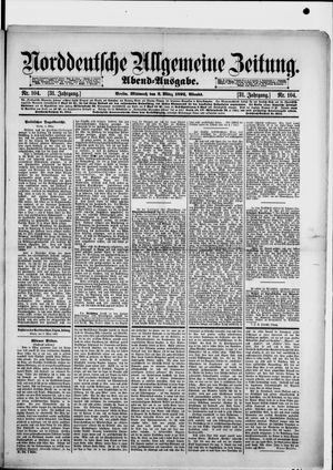 Norddeutsche allgemeine Zeitung vom 02.03.1892