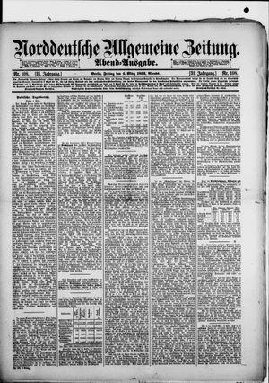 Norddeutsche allgemeine Zeitung on Mar 4, 1892
