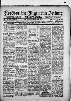 Norddeutsche allgemeine Zeitung vom 05.03.1892