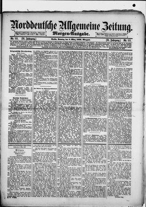 Norddeutsche allgemeine Zeitung on Mar 6, 1892
